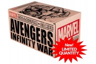 СПОЙЛЕР! Unboxing коробки Мстители: Война Бесконечности Collector Corps от Marvel и Funko