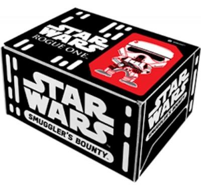 Изгой Один набор (Rouge One box) из коробки Smugglers Bounty от Фанко по фильму Звездные войны