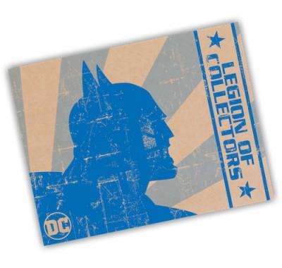 ДС комикс наследие набор (DC Legacy box) из бокса Legion of Collectors от Фанко и ДС Комикс