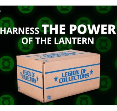 Зеленый Фонарь набор (Green Lantern box) из бокса Legion of Collectors от Фанко и ДС Комикс