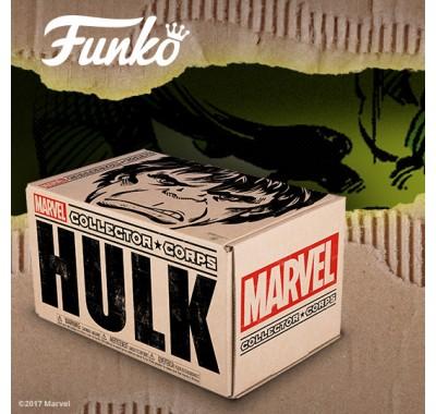 Халк набор Марвел (Hulk box) из набора Collector Corps от Фанко и Марвел