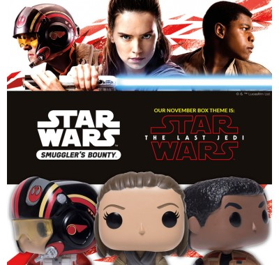 Последний Джедай набор (The Last Jedi box) из коробки Smugglers Bounty от Фанко по фильму Звездные войны