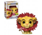 Simba Leaf Mane flocked (Эксклюзив) из мультика The Lion King Disney