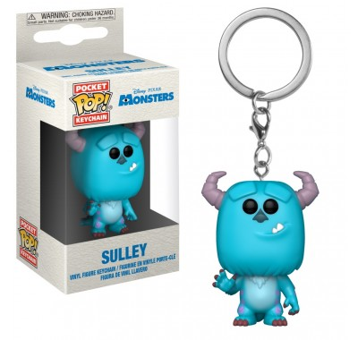 Салли брелок (Sulley keychain) из мультика Корпорация монстров