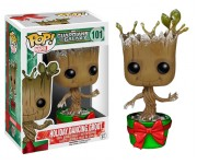 Dancing Groot Holiday Metallic with Snow (Эксклюзив) из фильма Guardians of the Galaxy