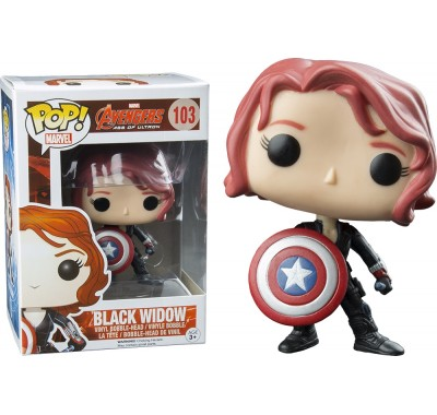 Black Widow with Shield (эксклюзив) из киноленты Avengers: Age of Ultron