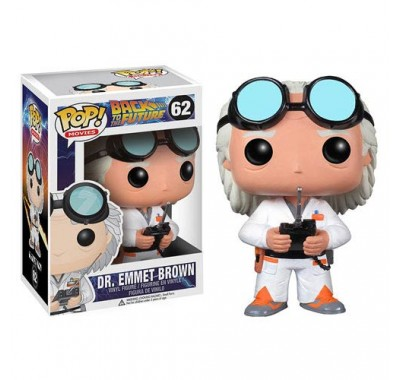 Doc Brown из киноленты Back to the Future