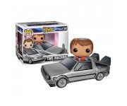 DeLorean Time Machine with Marty McFly из киноленты Back to the Future