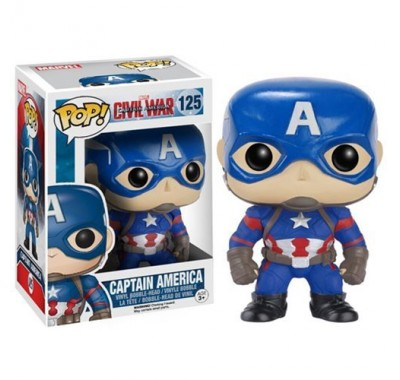 Captain America из киноленты Captain America: Civil War