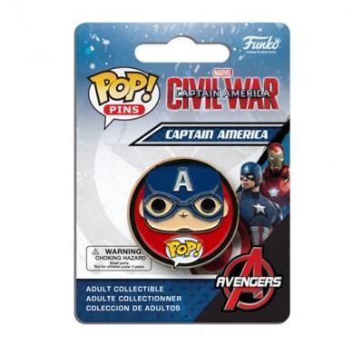 Captain America Pin из киноленты Captain America: Civil War