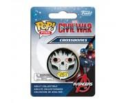 Crossbones Pin из киноленты Captain America: Civil War