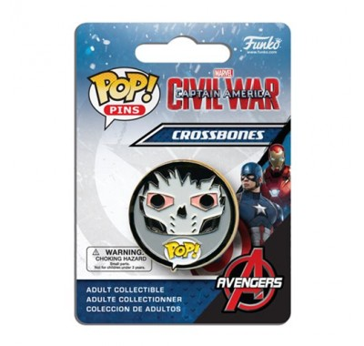 Crossbones Pin из киноленты Captain America: Civil War
