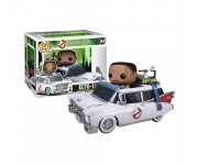 Dr. Winston Zeddemore and Ecto-1 из киноленты Ghostbusters