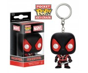 Deadpool Black Suit key chain из вселенной Marvel