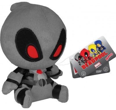 Deadpool Grey Suit Mopeez Plush из вселенной Marvel