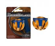Pin 1 оранжевый из киноленты Tomorrowland