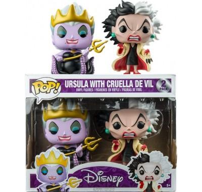 Урсула и Стервелла Де Виль (Ursula and Cruella De Vil 2-pack (Эксклюзив)) из серии Дисней Злодеи