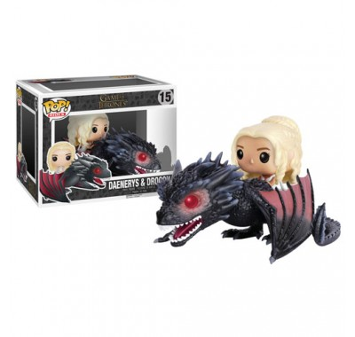 Дейнерис на Дрогоне райд (Daenerys with Drogon Ride) из сериала Игра престолов