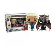 Daenerys Mhysa and Drogon Metallic 2-pack (Эксклюзив) из сериала Game of Thrones