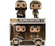 Jon Snow and Bran Stark 2-pack (Эксклюзив) из сериала Game of Thrones