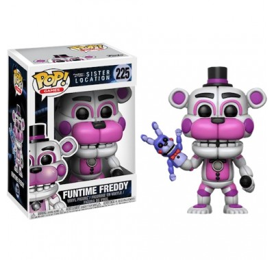 Фредди Веселый (Freddy Funtime) из игры Пять ночей у Фредди: Сестринская локация