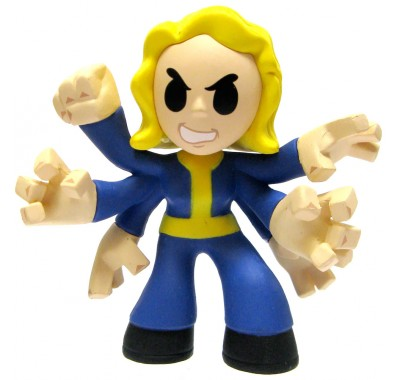 Black Widow (1/12) minis из игры Fallout