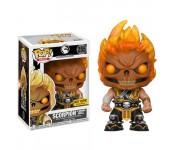 Scorpion flaming Skull (Эксклюзив) из игры Mortal Kombat X