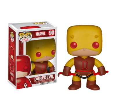 Daredevil (Эксклюзив) желтый из вселенной Marvel