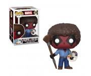 Deadpool as Bob Ross из фильма Deadpool