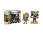 Groot and Rocket 2-pack (Эксклюзив) из фильма Guardians of the Galaxy Vol. 2 Marvel