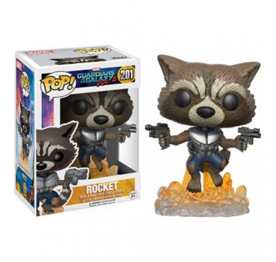 Реактивный Енот (Rocket Raccoon) из фильма Стражи Галактики. Часть 2