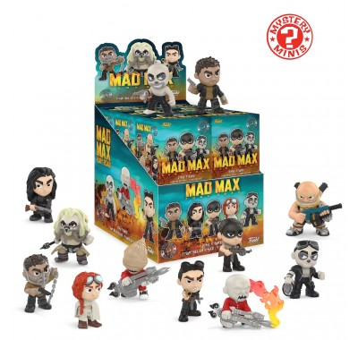 Безумный Макс: Дорога ярости мистери минис (Mad Max: Fury Road mystery minis) из фильма Безумный Макс: Дорога ярости