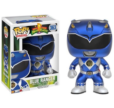 Blue Ranger Metallic (Эксклюзив) из сериала Mighty Morphin Power Ranger Funko POP