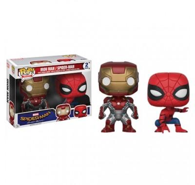 Железный человек и Человек-Паук (Iron Man and Spider-Man 2-pack (Эксклюзив)) из фильма Человек-паук: Возвращение домой Марвел