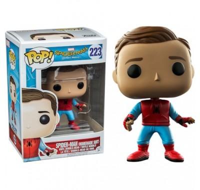 Человек-паук в самодельном костюме без Маски (Spider-Man Homemade Suit Unmasked (Эксклюзив)) из фильма Человек-паук: Возвращение домой Марвел