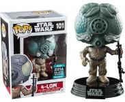 4-LOM (Эксклюзив) из вселенной Star Wars Funko POP