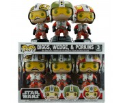 Biggs, Wedge and Porkins 3-pack (Эксклюзив) из фильма Star Wars
