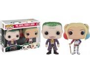 Joker and Harley Quinn Metallic 2-pack (Эксклюзив) из фильма Suicide Squad DC Comics