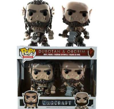 Durotan & Orgrim 2-pack (Эксклюзив) из киноленты Warcraft Funko POP