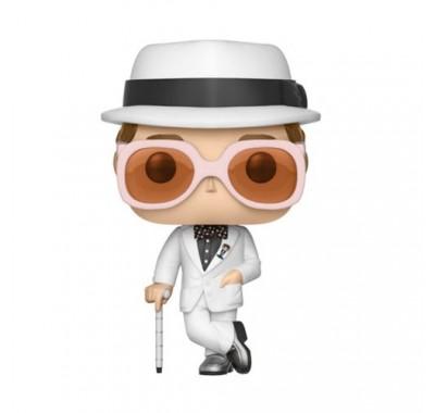 Элтон Джон в Белом (Elton John white) из серии Музыканты