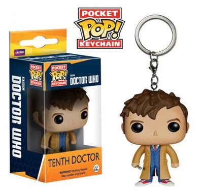 10 Доктор брелок (10th Doctor Keychain) из сериала Доктор Кто