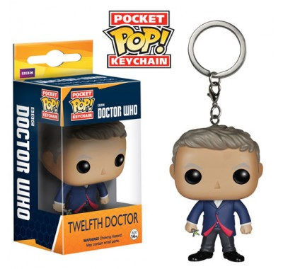 12th Doctor Key Chain из сериала Doctor Who