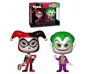 Harley Quinn and Joker Vynl. из комиксов DC Comics