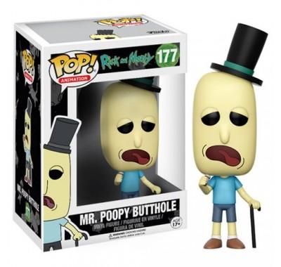 Мистер Жопосранчик (Mr. Poopy Butthole) из сериала Рик и Морти