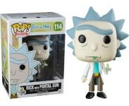 Rick with Portal Gun (Эксклюзив) из мультика Rick and Morty