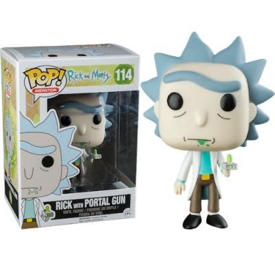 Рик с Портал Ганом (Rick with Portal Gun (Эксклюзив)) из мультика Рик и Морти