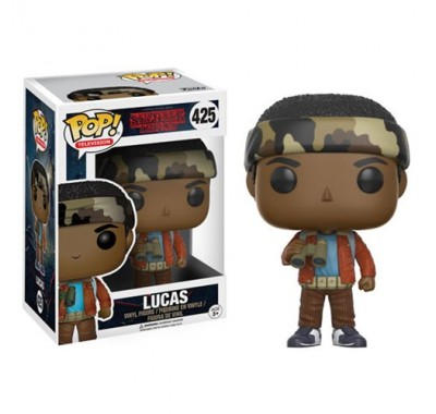 Lucas из сериала Stranger Things