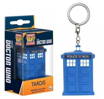 Тардис брелок (Tardis Keychain) из сериала Доктор Кто