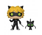 Cat Noir with Plagg Buddy из мультика Miraculous: Tales of Ladybug and Cat Noir