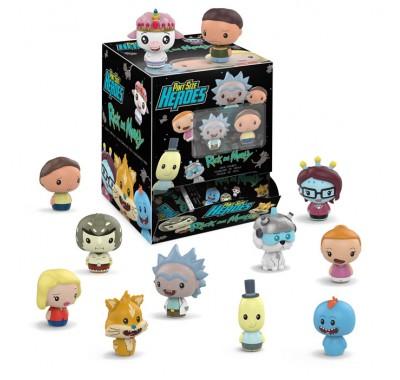 ЗАКРЫТАЯ коробочка пинт сайз герой (BLIND box pint size heroes) из мультика Рик и мультика
